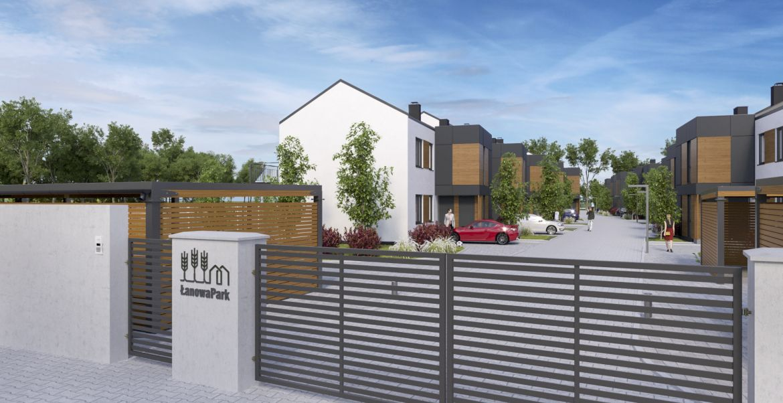 Ostatnie wolne mieszkanie w inwestycji Łanowa Park z ogrodem z ekspozycja południowa